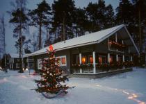 Коттедж зимой