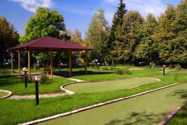Зеленый городок, Общие виды