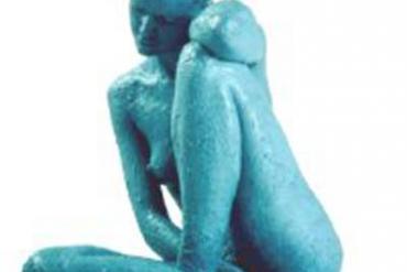 Глинолечение, Голубая глина