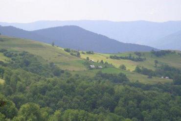 Закарпатская область, Общие виды