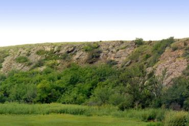 Луганская область, Королевские скалы