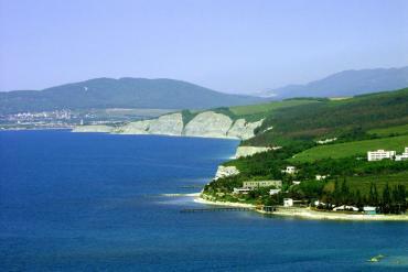 Черноморское побережье, Общие виды