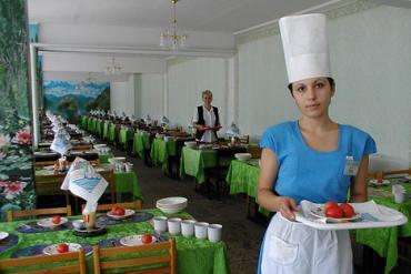 Санаторий Бердянск, Питание