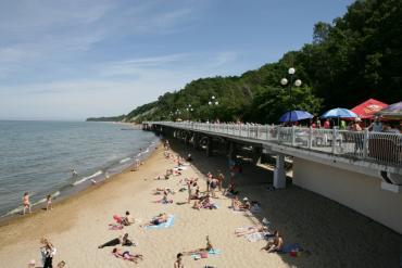 Пляж Светлогорска