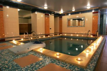 Мини-бассейн в Wellness - центре