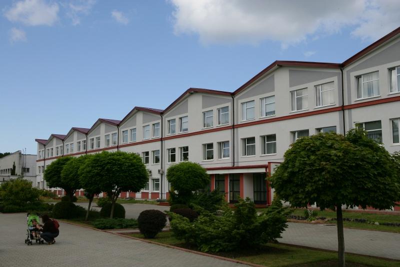 Главный корпус санатория Янтарный берег