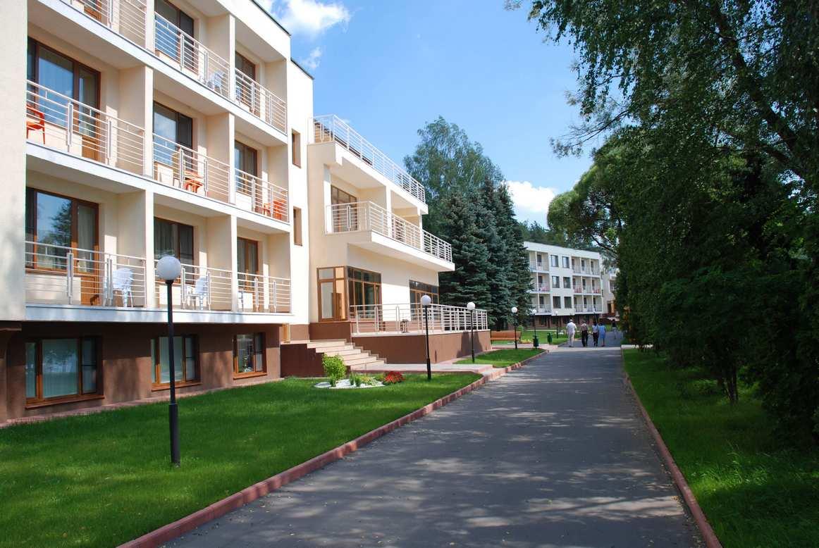 Спальные корпуса отеля