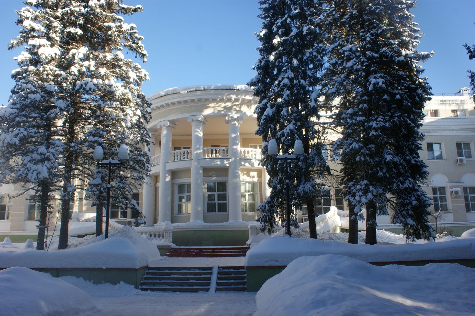 Дома отдыха пансионаты подмосковье новый год