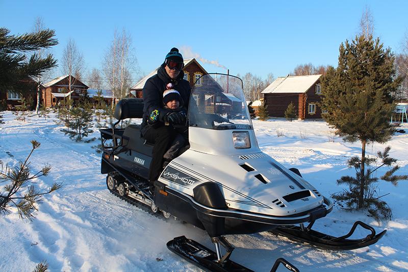 выбрать снегоход для рыбалки