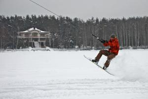 Зимний парк для катания