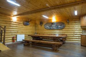 Коттедж Русская баня, комната отдыха