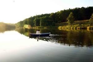 Грумант, Катание на лодках