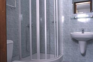 Ванная в номере полулюкс