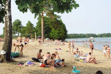 Санаторий Алеся, Пляж
