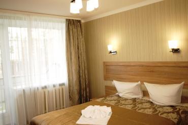 Однокомнатный номер с кроватью double