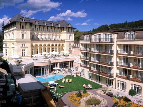 санаторий Grand Spa Marienbad Falkensteiner 4